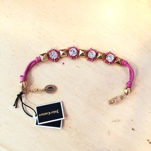 Jewelry - NWT Juicy Couture Pink Bracelet